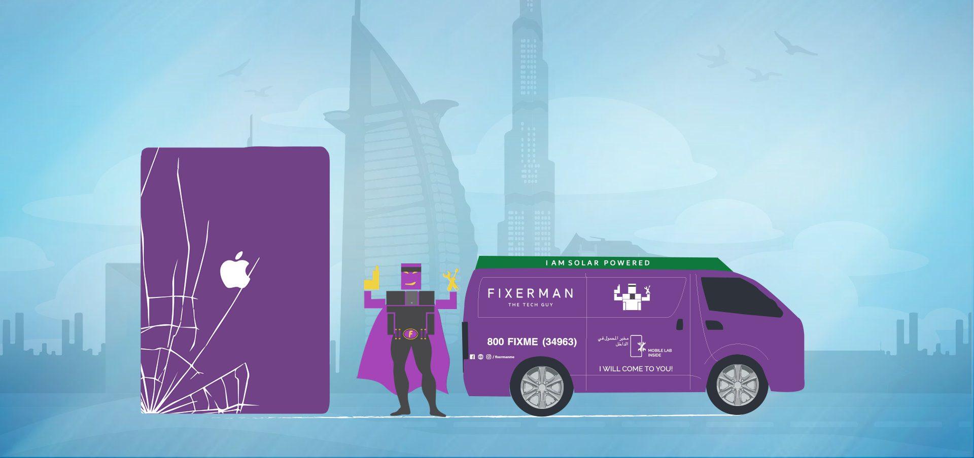 ipad pro repair and screen replacement in Dubai