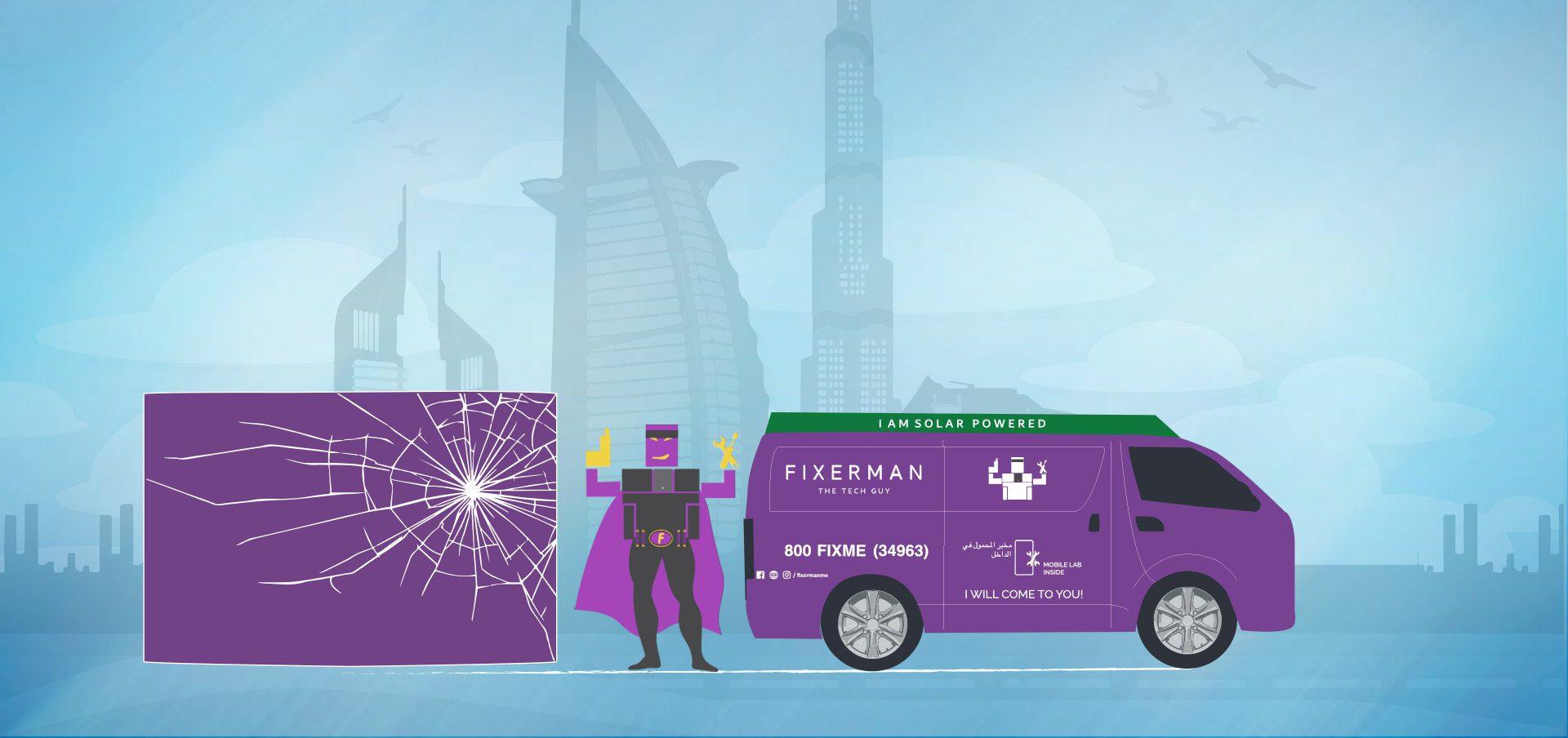 Mobile phone repairing service in Dubai