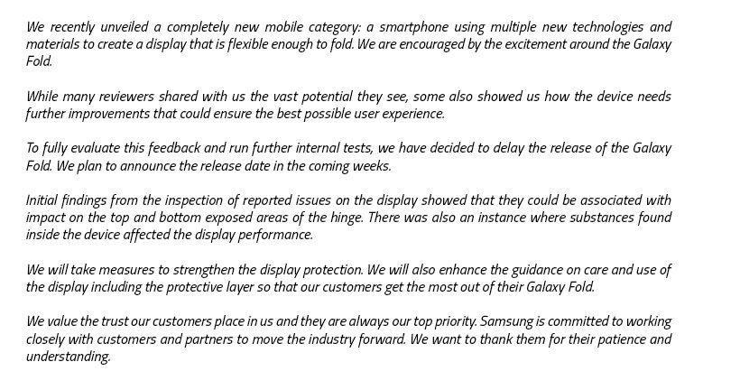 Samsung Repair Dubai - Samsung Galaxy Fold in Dubai