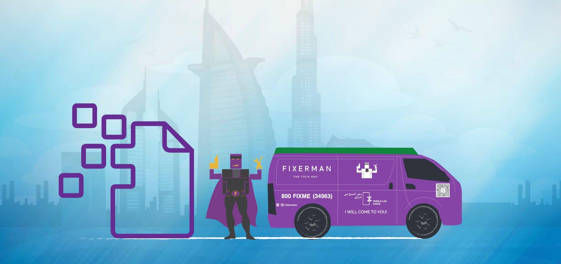 Data Recovery Service in Dubai